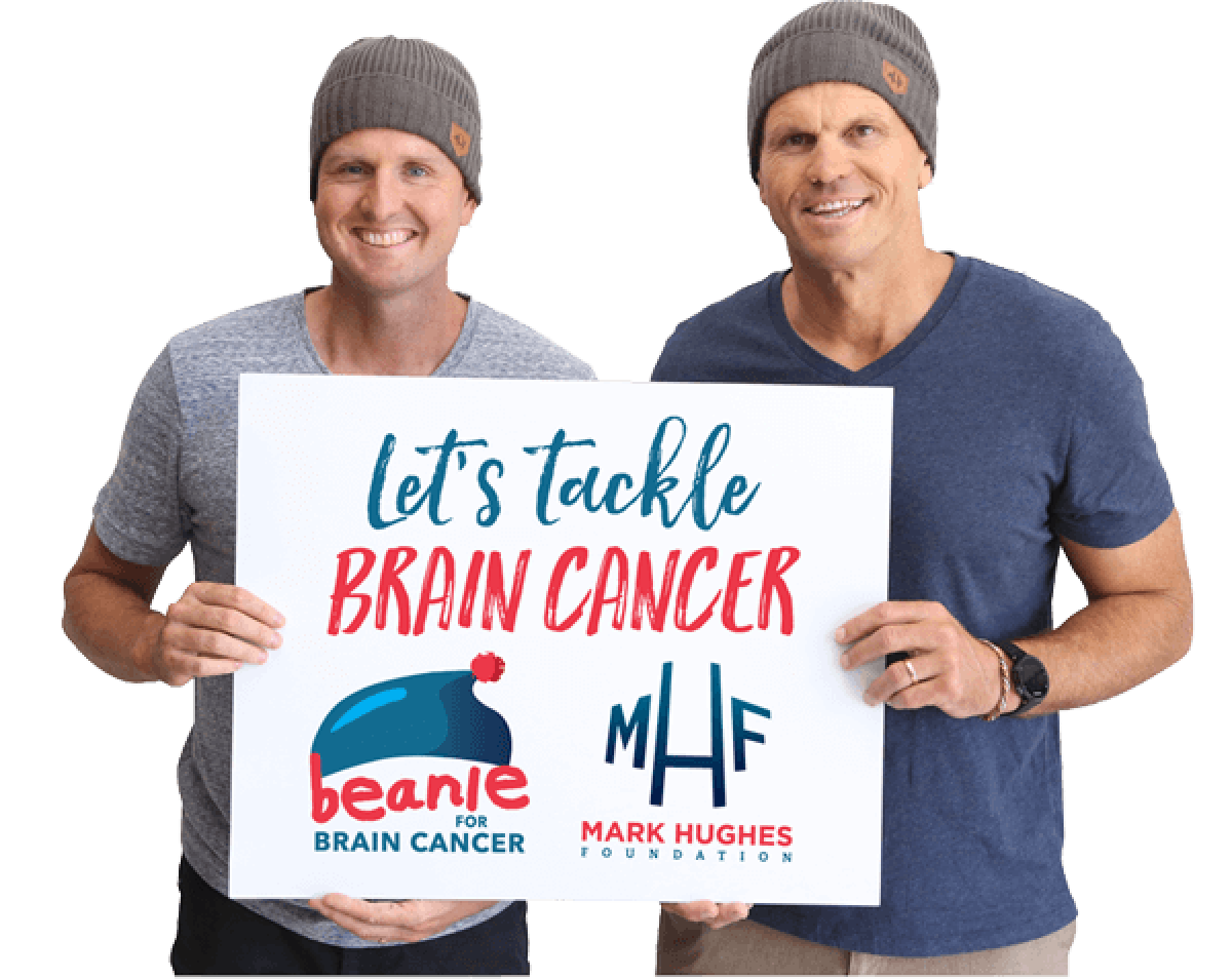 Mark and Paul - Lets Tackle Brain Cancer
